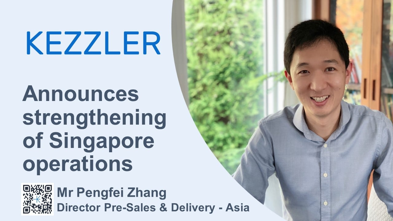 Kezzler announces further strengthening of its Asian operations