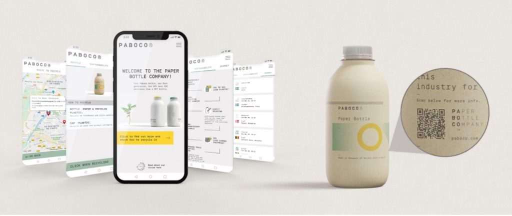 Paboco——赋予纸瓶互动特性、鼓励回收